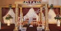 Wedding Golden Mandap