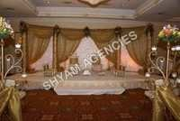 Indian Half Moon Wedding Stage