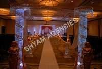 Iron Crystal Mandap Set up