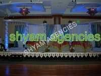 Open Crystal Wedding Stage