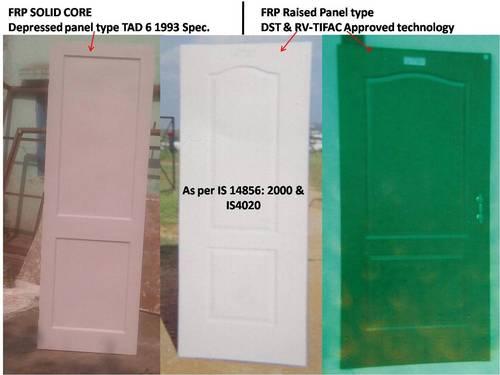 FRP Doors (IS 14856:2000  &  IS 4020)