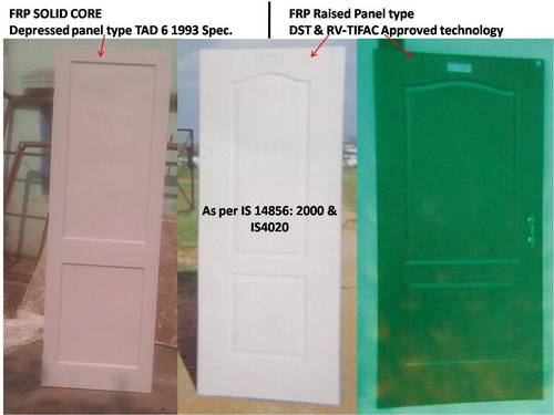 FRP Doors (IS 14856:2000  &  IS 4020)