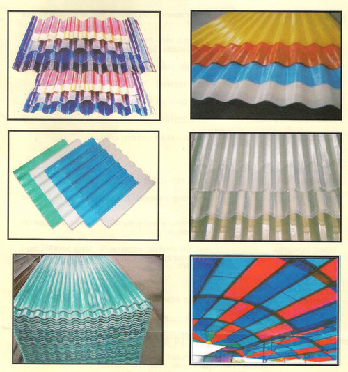 Amcolite FRP Rooflite Sheets