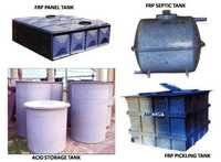 FRP STORAGE TANKS (ACID, PANEL, PICKLING, SEPTIC)