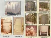 GRP/FRP Chemical Storage Tanks