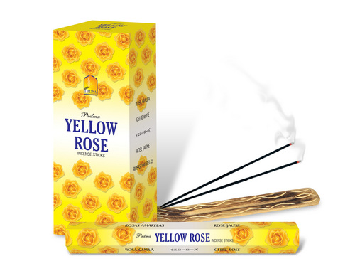 Yellow Rose Incense Sticks