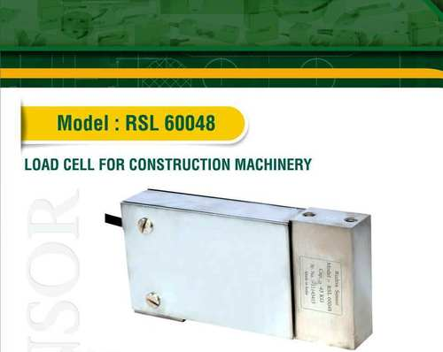 Load Cell For Construction Machine