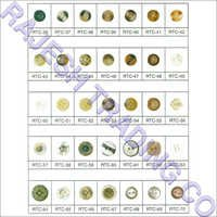 Colourful Polyester Button
