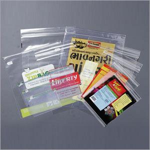 Standard Zipper Bags