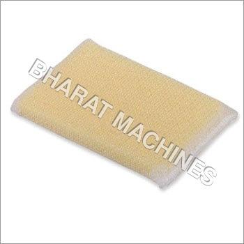 Knitting Machine For Dishwashing Fabric
