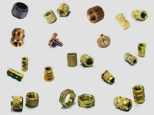 Automotive Moulding Parts Brass Threaded Inserts