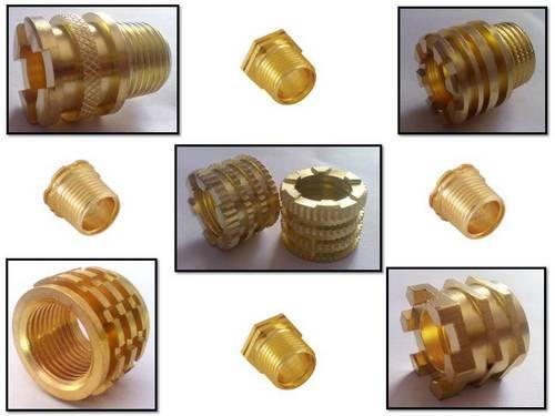 PPR, CPVC & UPVC Fittings Brass Inserts