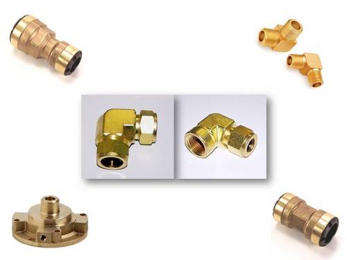 Brass Precision Forged Components