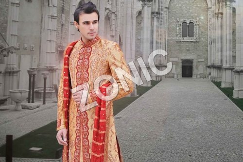 Embroidery Sherwani