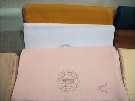 Khadi Polyesters Fabric