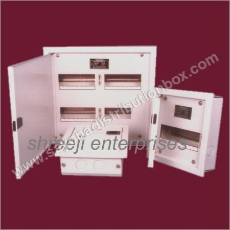 Double Doors Distribution Board
