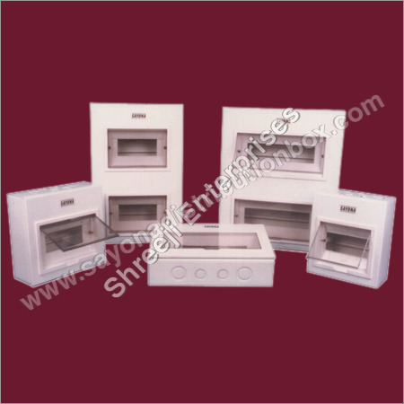 White Line MCB Distribution Board