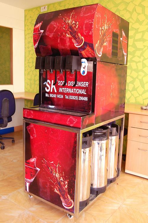 Soda Dispenser Machine Exporter In India