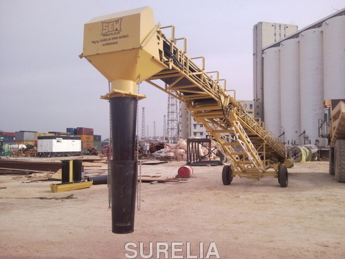 Hydraulic Mobile Concrete Placer