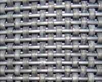 Flat Round Wire Scourer Mesh