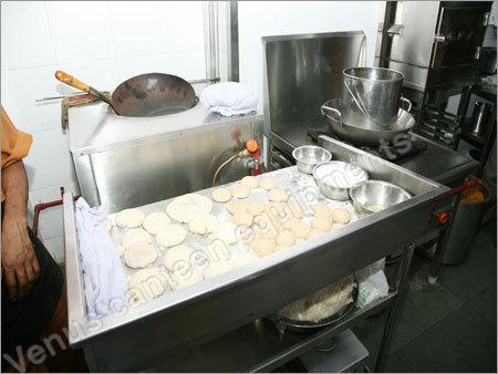 Tandoori Naan Preparing