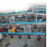Pet Bottles Storage And Handling Machine