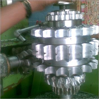 Spur Gear Hobbing Machine