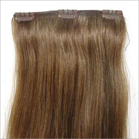 Clip On Weft Hair