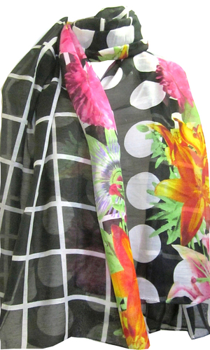 Flower Printed Voile