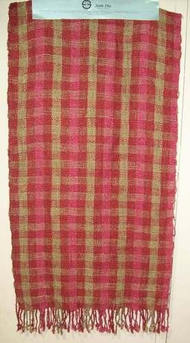 Checks Cotton Printed Shawl