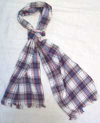 Cotton Printed Checks Shawl