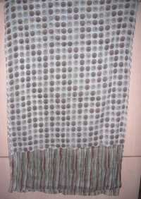 Cotton Printed Dotted Shawl