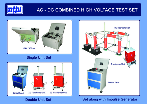 Combined High Voltage Test Set
