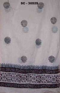 Cotton Block Printed Scarves