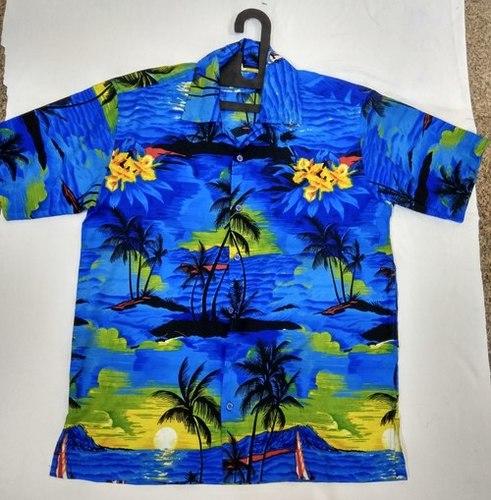 100% Polyester Beach Shirt