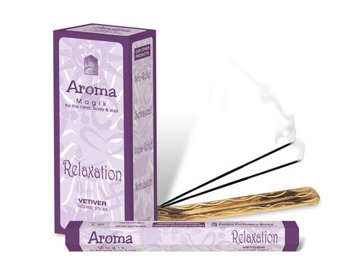 Aroma Ventiver Incense Sticks