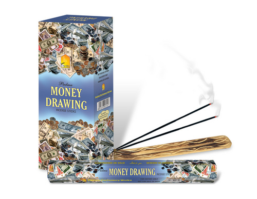 Money Drawing incense Sticks