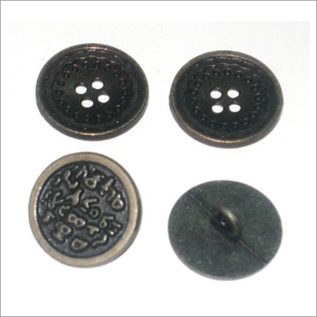 Metal Diecast Button
