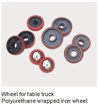 PU CI Bonded Wheel