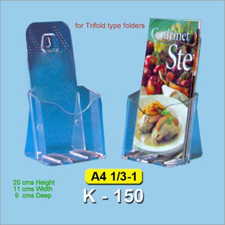 Acrylic Brochure And Leaflet Holder