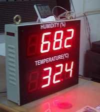 Room Temperature & Humidity Indicators