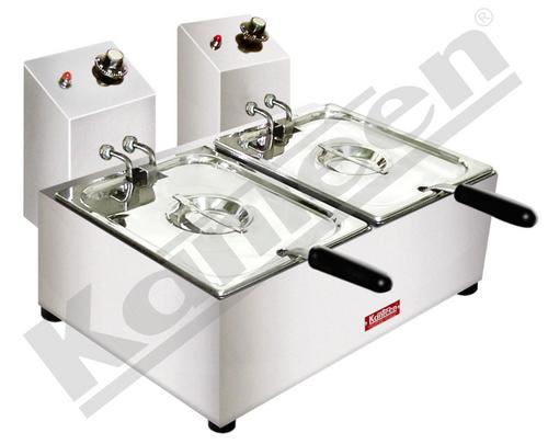 Double Unit Deep Fat Fryer - Counter Top -