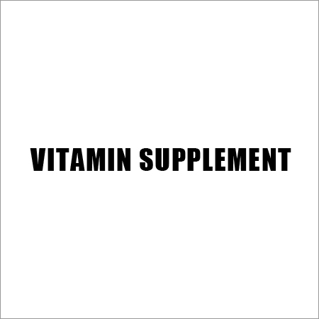 Vitamin Supplement
