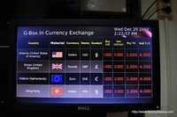 Digital Signage for foreign Exchange rates