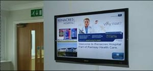 Dynamic Signage for Hospitals and Clinics