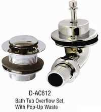 Bathtub Overflow Set
