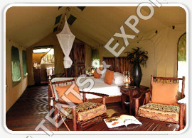 Luxury Wooden tents