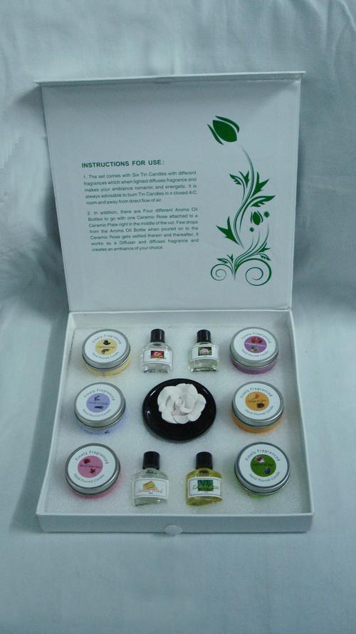 White Aroma Gift Set