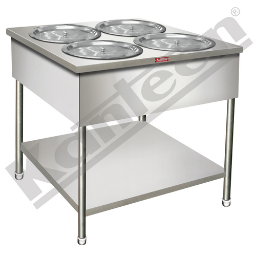 Bain Marie With Bs & Round Vessels