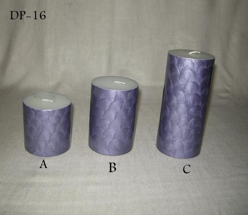 Designer Pillar Candles